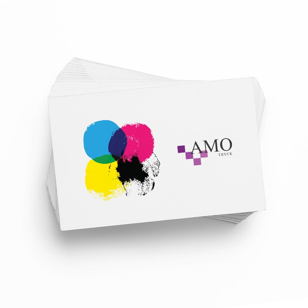 Trycka Visitkort - AMO-Tryck