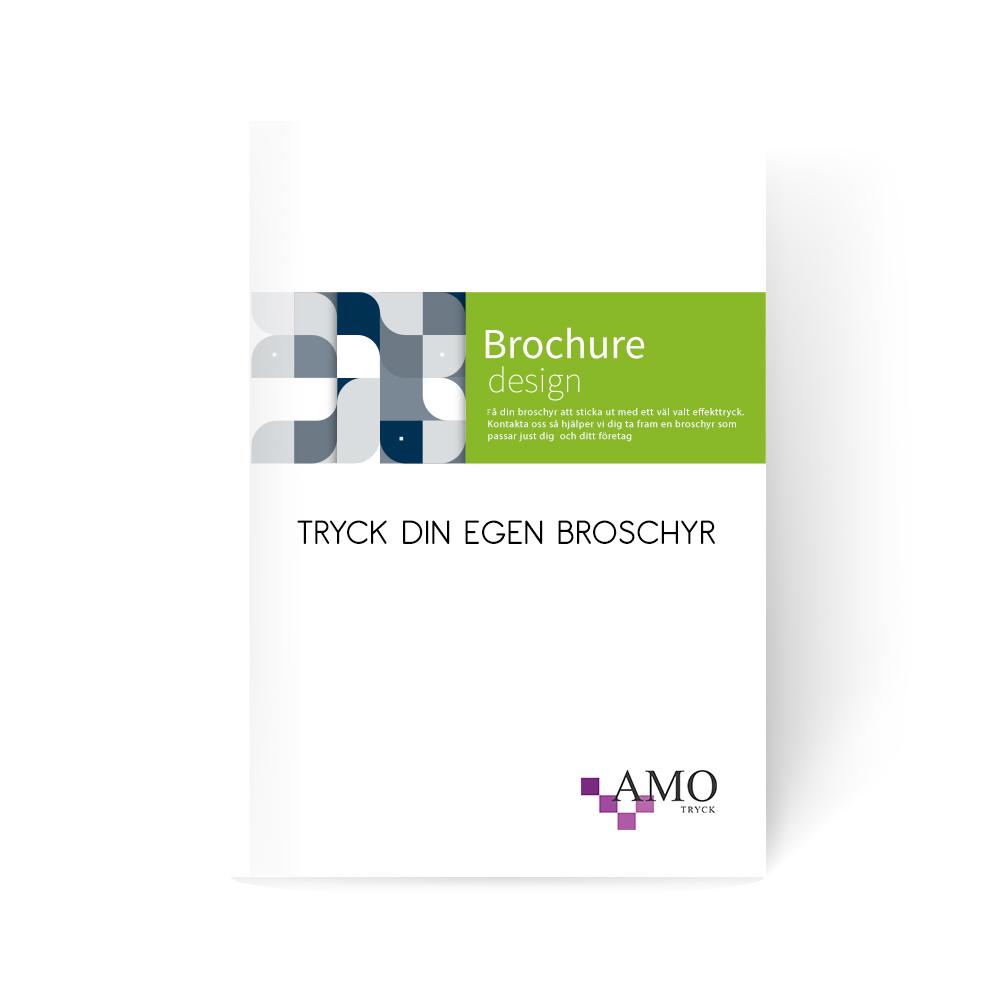 Trycka broschyrer - AMO-Tryck