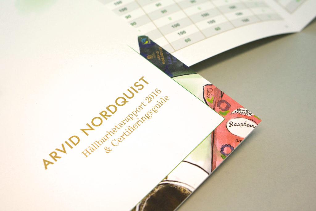 AMO-Tryck - Trycka broschyr till Arvid Nordquist