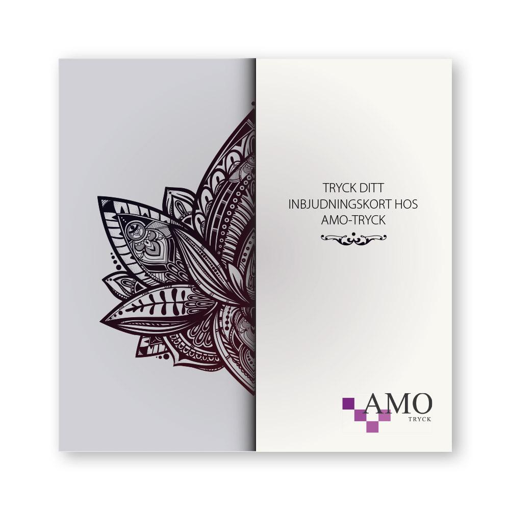 Trycka inbjudningskort - Tryck dina egna inbjudningskort - AMO-Tryck